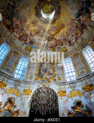 DE - BAVARIA: Ettal Benedictine Monastery - Stock Photo
