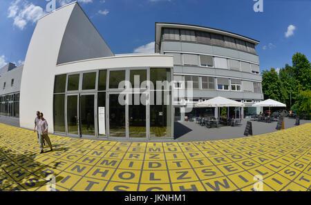 Berlin broad gallery, old Jakobstrasse, cross mountain, Berlin, Germany, Berlinische Galerie, Alte Jakobstrasse, - Stock Photo