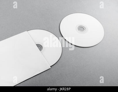 Blank Dvd And Envelope Template Design Set Stock Vector Art