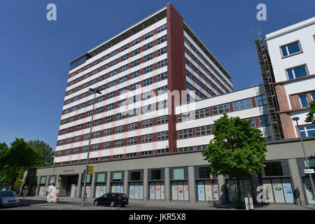 European house, Stresemannstrasse, cross mountain, Berlin, Germany, Europahaus, Kreuzberg, Deutschland - Stock Photo
