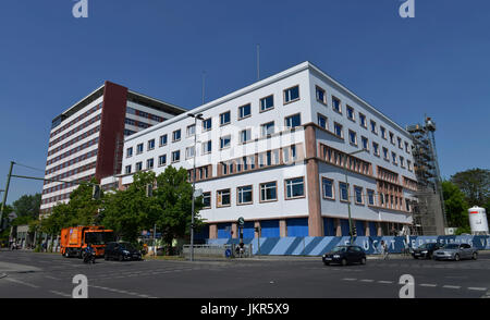 Germany house, European house, Stresemannstrasse, cross mountain, Berlin, Germany, Deutschlandhaus, Europahaus, - Stock Photo