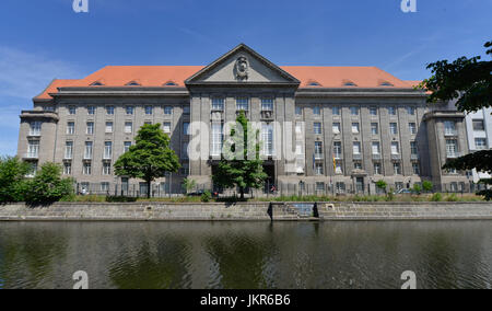 Federal Ministry of the defence, Reichpietschufer, zoo, middle, Berlin, Germany, Bundesministerium der Verteidigung, - Stock Photo