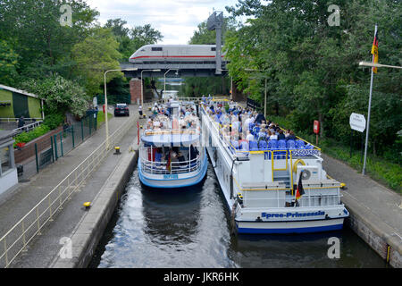 Untersluice, zoo, middle, Berlin, Germany, Unterschleuse, Tiergarten, Mitte, Deutschland - Stock Photo