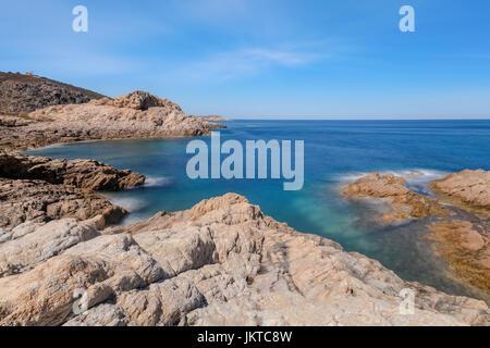 L'ile Rousse, Balagne, Corsica, France - Stock Photo