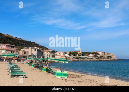 Algajola, Corsica, Balagne, France