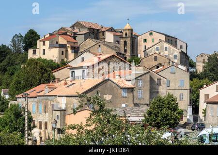 Riventosa, Haute-Corse, Corsica, France - Stock Photo