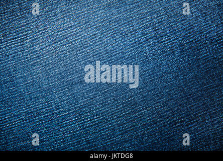 Blue jeans background or texture pattern - Stock Photo