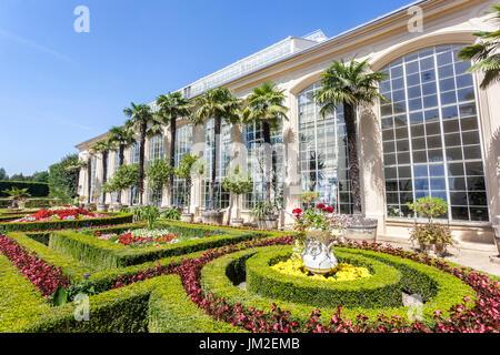 Greenhouse in Pleasure Garden Kromeriz UNESCO City Moravia