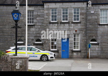 Kenmare Garda Station - Stock Photo