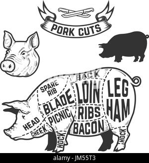 Diagram Of Pork Pig further Pork Print Pig Art Pig Meat Pork Meat in addition Beef 20chart furthermore Search also Lamb. on cuts of meat poster