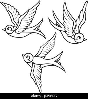 Tattoo vorlage schwalbe 26 Jaw