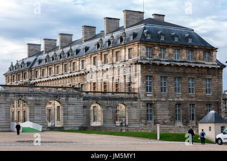 Vincennes castle, Paris, Ile-de-france, France - Stock Photo