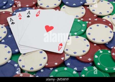 how to play 5 card draw with chips