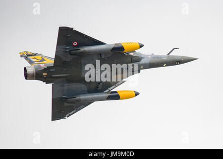French Dassault Mirage 2000D Delta Couteau at RIAT 2017 at Fairford, UK - Stock Photo