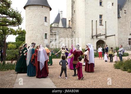Scenofeerie at Le Rivau, May 2017 - Stock Photo