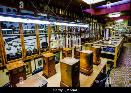 General view of the Sanctuary Wood War Museum near Ypres, Belgium - Stock Photo