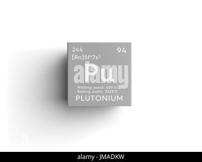 Symbol For The Chemical Element Plutonium Stock Photo 59918082 Alamy