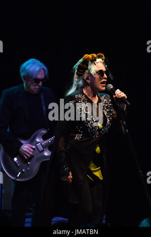 Toronto, Canada. 26th July, 2017.  New Wave icons Blondie perform at the Sony Centre in Toronto on their Rage and - Stock Photo