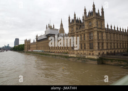 London, UK. 26th July, 2017. CH2M and BDP to lead the revamp of Parliament they have won the contract to manage - Stock Photo