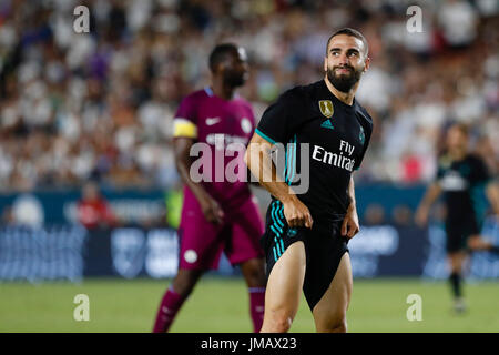 Daniel Carvajal Ramos (2) Real Madrid's player. INTERNATIONAL CHAMPIONS CUP between Manchester City vs Real Madrid - Stock Photo