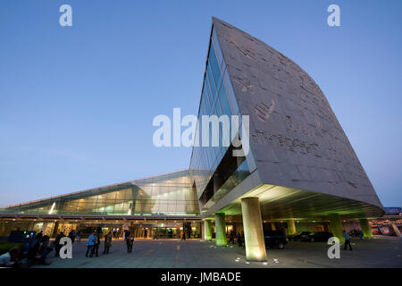 Egypt, Alexandria, Bibliotheca Alexandrina - Stock Photo