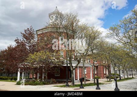 The muster house Charlestown navy yard Boston USA - Stock Photo