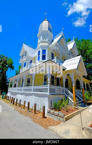 Florida Mount Mt Dora Historic Downtown 4th Street The