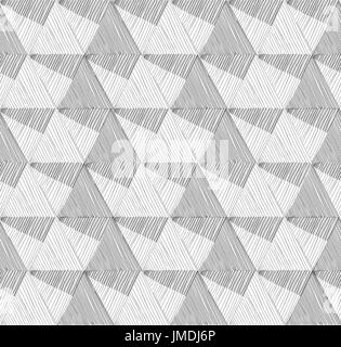 Seamless geometric pattern. Abstract vector textured background for scrapbook. - Stock Photo