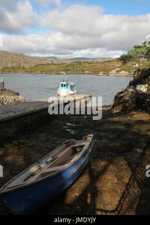 Passenger ferry at Garnish Island in Bantry Bay, West Cork, Ireland. - Stock Photo