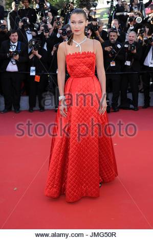 Bella Hadid Cannes film festival 20-05-2017 - Stock Photo