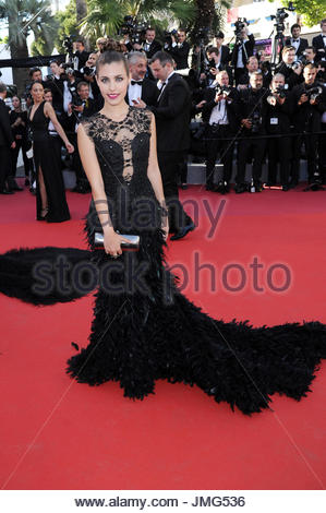Aida Flix Cannes film festival 20-05-2017 - Stock Photo