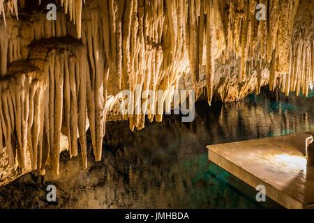 Bermuda Crystal Cave - Stock Photo