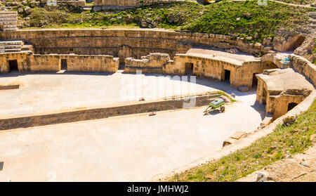 Ancient Coliseum in Tunisia - Stock Photo