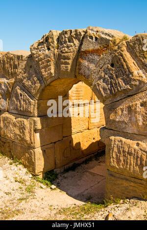 Ancient Coliseum in Tunisia - Stock Photo