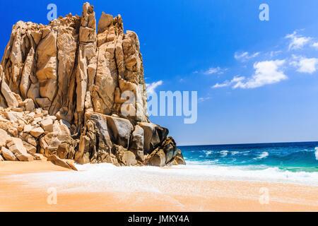 Cabo San Lucas, Mexico. Divorce Beach near Cabo San Lucas, Mexico. - Stock Photo