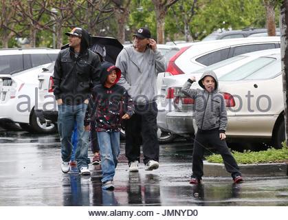 Kevin Federline, Kori Madison Federline and Kaleb ...