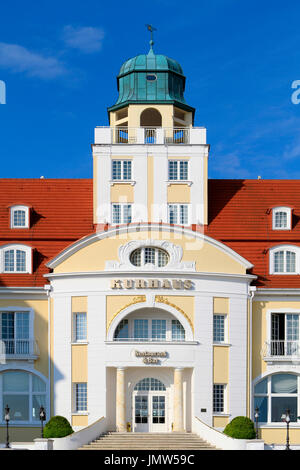 Baltic Seaside Resort in Binz at Ruegen Island, Mecklenburg-Western Pomerania, Germany, Europe - Stock Photo