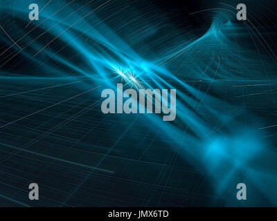 Abstract technology style background - digitally generated image