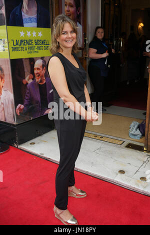London, England, UK. 27th July, 2017. Zoe Tapper attends the opening day The Hunting of the Snark at Vaudeville - Stock Photo