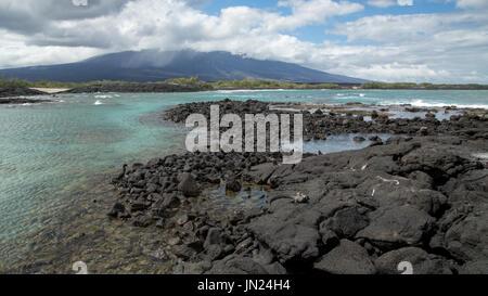 Galapagos Islands Landscape - Paisaje Islas Galápagos - Stock Photo
