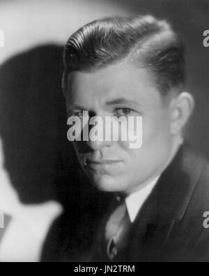Actor Stuart Erwin, Publicity Portrait, Paramount Pictures, 1930's - Stock Photo