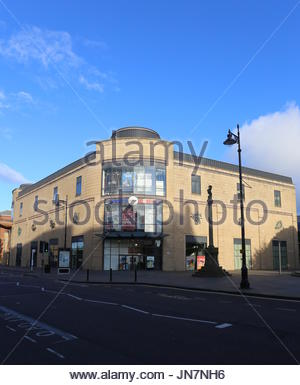 Exterior of Overgate Shopping Centre Dundee Scotland  July 2017 - Stock Photo