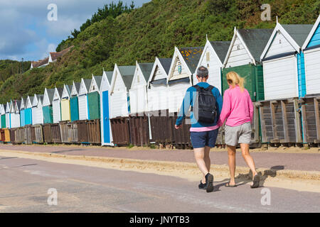 Bournemouth, Dorset, UK. 31st July, 2017. UK weather: after a weekend of mixed weather, a warm sunny start to the - Stock Photo