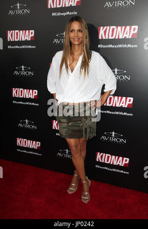 Hollywood, Ca. 31st July, 2017. Halle Berry, At Premiere Of Aviron Pictures' 'Kidnap' At ArcLight Hollywood In California - Stock Photo