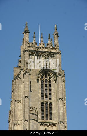 Beverley Minster in Beverley, East Riding of Yorkshire, - Stock Photo