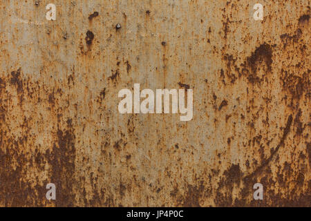 Old rusty metal. Texture of metal. Old iron background - Stock Photo
