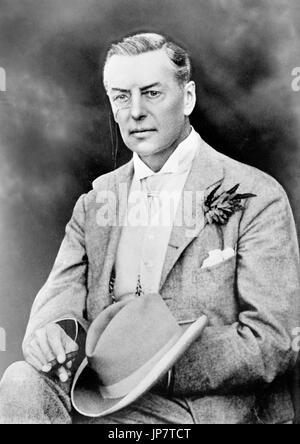 Joseph Chamberlain (1836-1914), Photograph of the British politician in 1909. - Stock Photo
