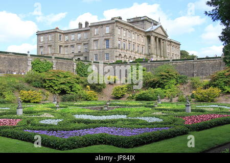 Lyme Park, Disley,, Chesjire, UK - Stock Photo