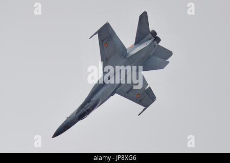 Spanish Air Force EF-18AM Hornet - Stock Photo