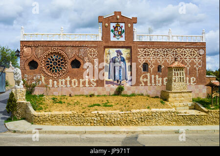 Pilgrims Hostel, St. James Way, Sahagun, Spain, - Stock Photo